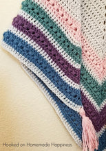 Load image into Gallery viewer, The Spring Shawl Crochet PATTERN