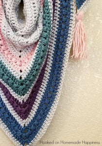 The Spring Shawl Crochet PATTERN