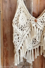 Load image into Gallery viewer, Boho Tank Top Crochet Pattern