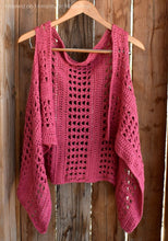 Load image into Gallery viewer, XOXO Summer Vest Crochet Pattern