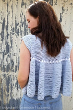 Load image into Gallery viewer, Peasant Style Top Crochet PATTERN