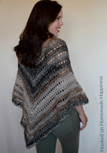 Load image into Gallery viewer, Desert Life Crochet Poncho Pattern