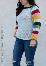 Load image into Gallery viewer, Mod Christmas Sweater Crochet Pattern