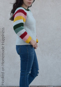Mod Christmas Sweater Crochet Pattern