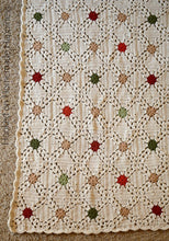 Load image into Gallery viewer, Country Christmas Afghan Crochet Pattern
