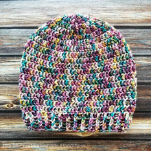 Load image into Gallery viewer, Slouchy Beanie Crochet PATTERN - Easy Crochet Pattern - Beginner Crochet Pattern - Crochet Hat Pattern