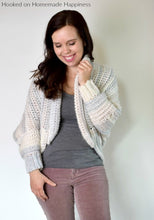 Load image into Gallery viewer, Coziest Cardigan Crochet Pattern