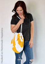 Load image into Gallery viewer, Circle-ish Market Bag Crochet Pattern