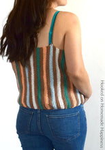 Load image into Gallery viewer, Macaron Cami Crochet Pattern