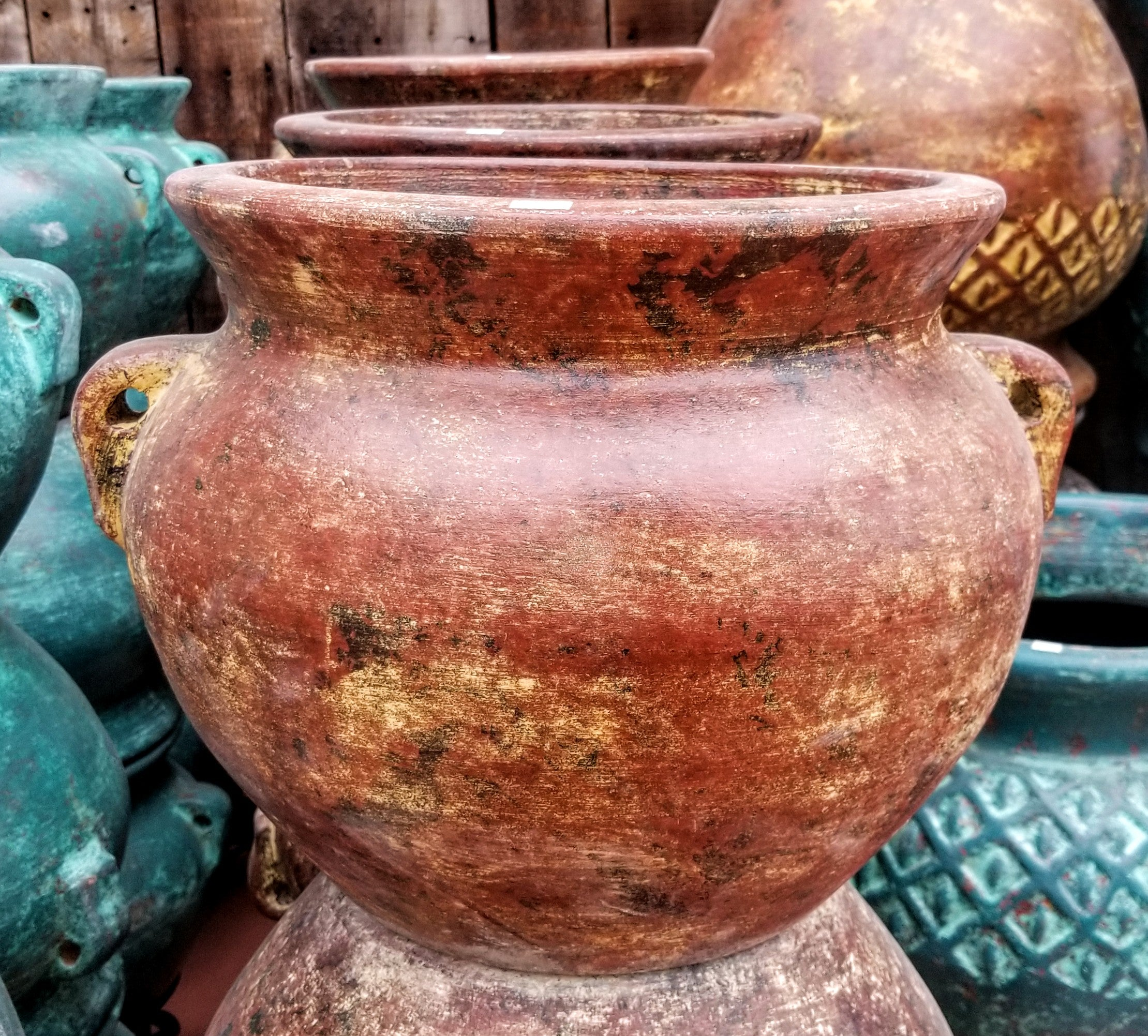 Medium Clay Pot With Handles
