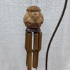 Monkey bamboo wind chime - Birdie's Nest Inc