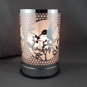 Touch lamp with oil burner | Hummingbird - Birdie's Nest Inc