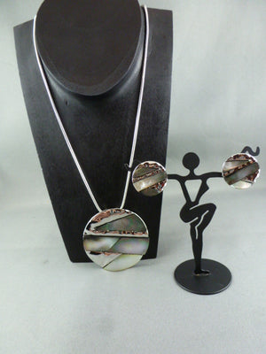 Fashion necklace and earring set FAN 1118 - Birdie's Nest Inc