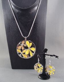 Fashion necklace and earring set FAN 1451 - Birdie's Nest Inc