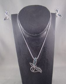 Fashion necklace and earring set FAN 1458 - Birdie's Nest Inc