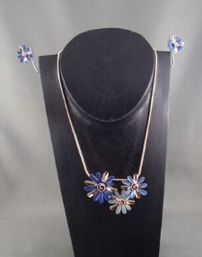 Fashion necklace and earring set FAN 1472 - Birdie's Nest Inc