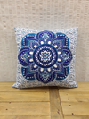India cushion Lotus - Birdie's Nest Inc