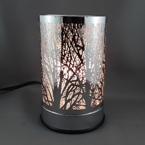 Touch lamp with oil burner | Trees - Birdie's Nest Inc