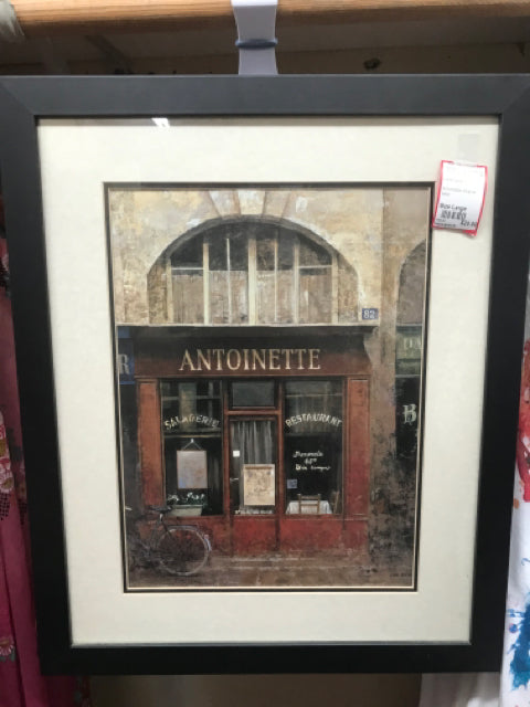 Size Large Home Decor Italian store print frame