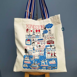 Cityscape Large Tote Bag