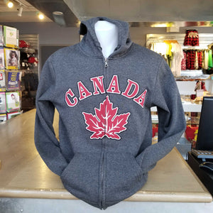 Grey Canada Maple Leaf Sweater