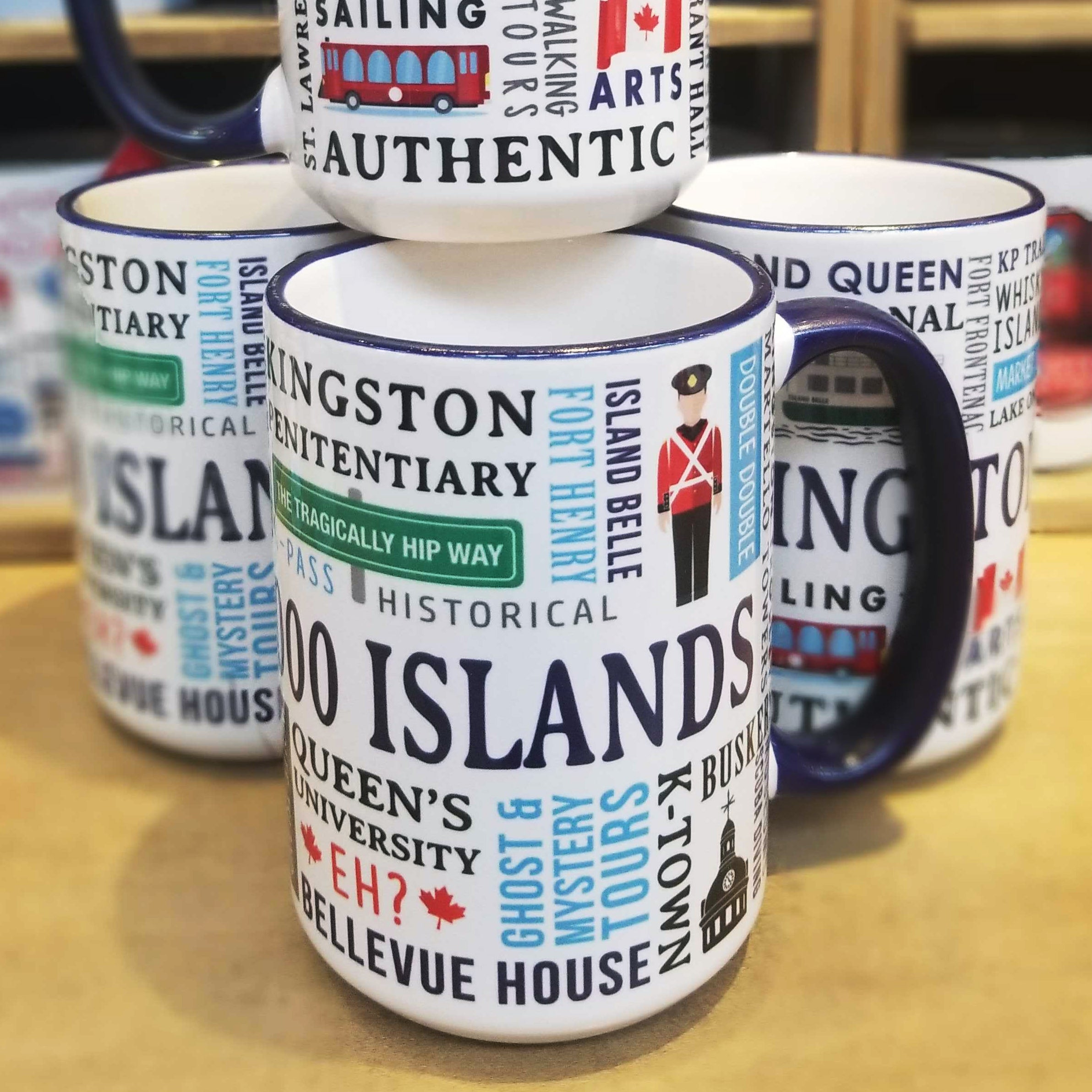 Kingston Chit Chat Mug