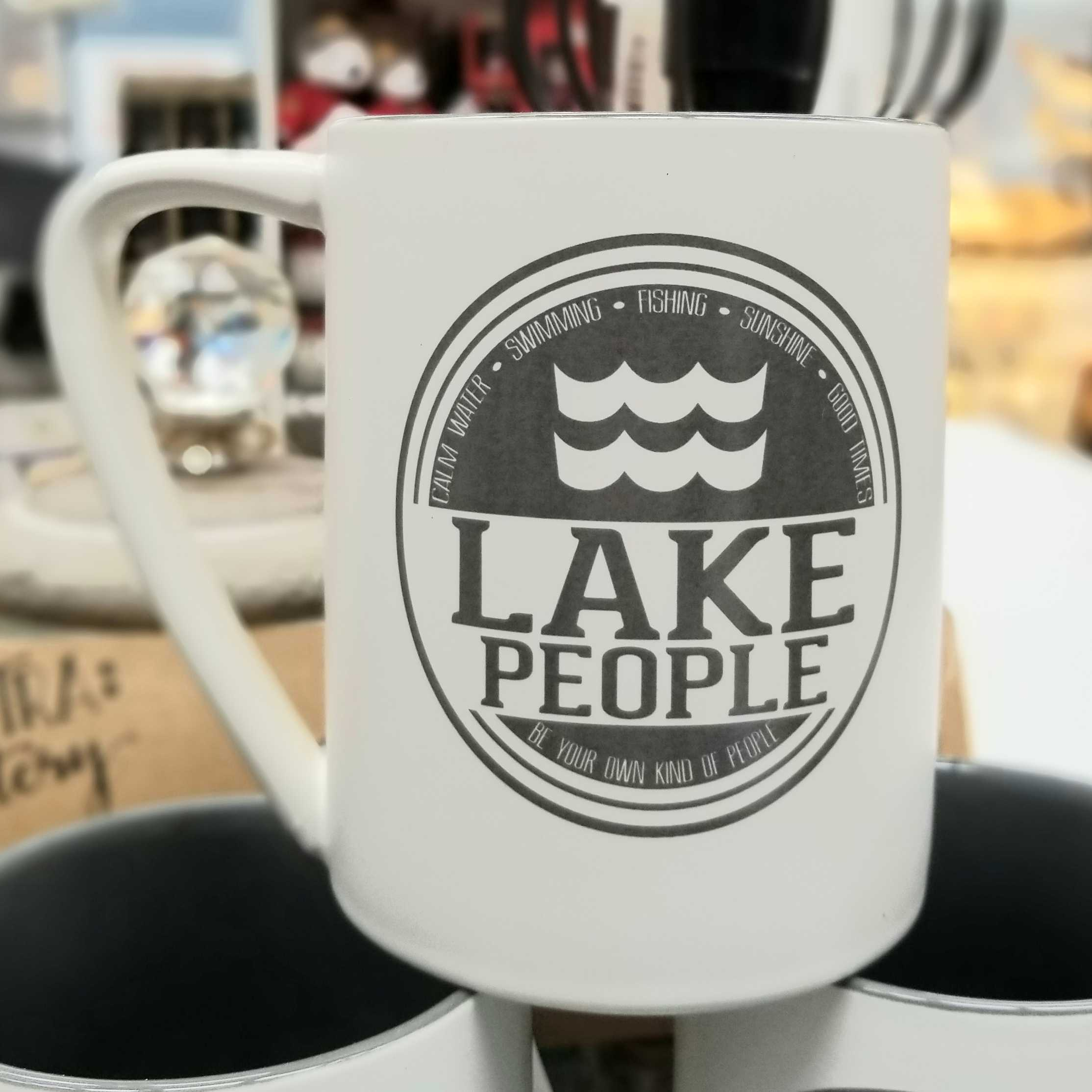 Lake People Mug
