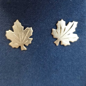 Maple Leaf Stud Earring