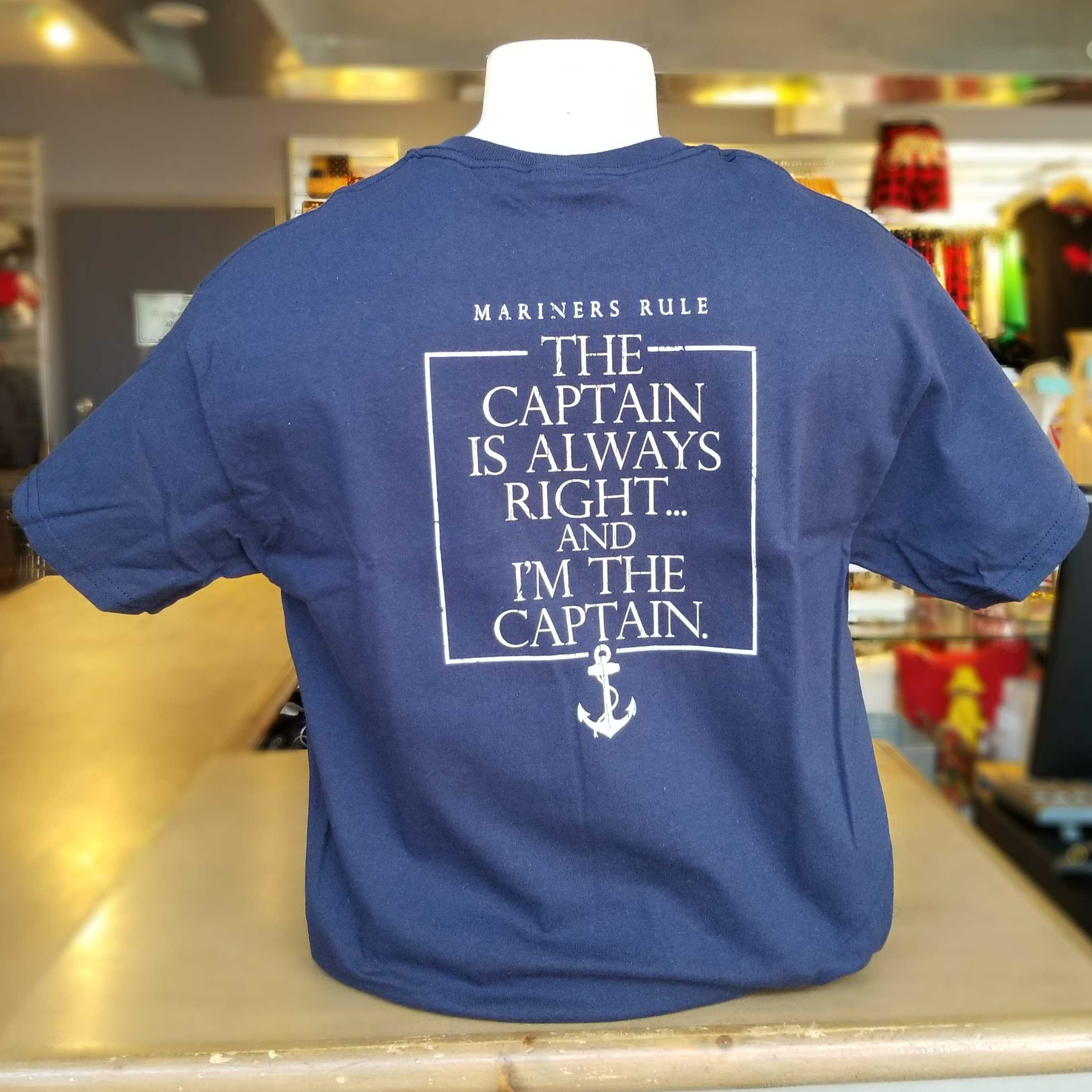 Mariner's Rule T-Shirt