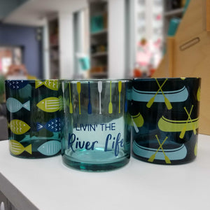 River Life Candle Holders