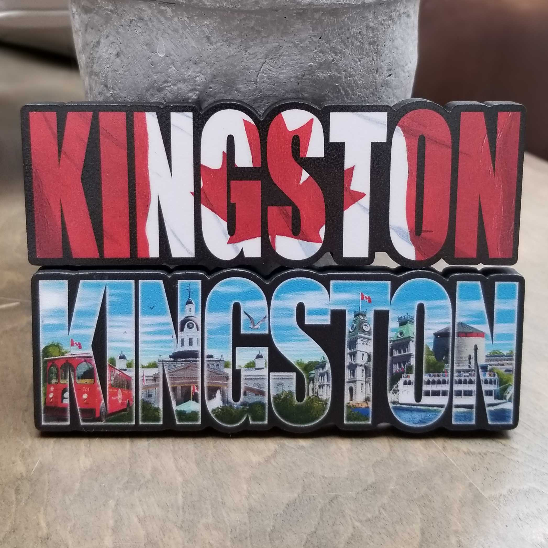 Kingston Word  Magnets