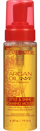 CON ARGAN OIL STYLE & SHINE FOAMING MOUSSE