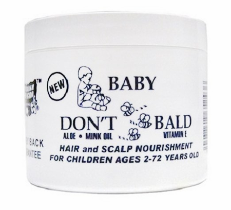 SSG BABY DONT B BALD  H/S NOURISHMENT