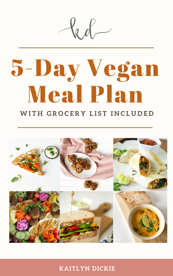 5 Days of Vegan Recipes