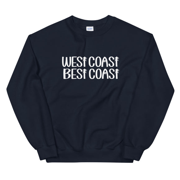 West Coast Best Coast Crewneck