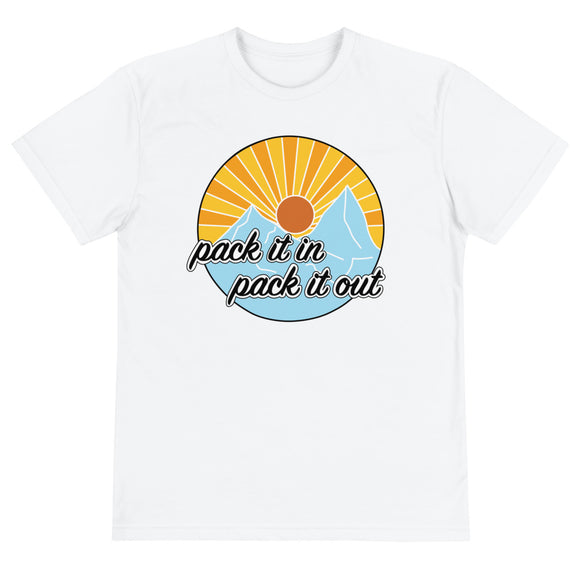 Pack It In, Pack It Out Tee - Color