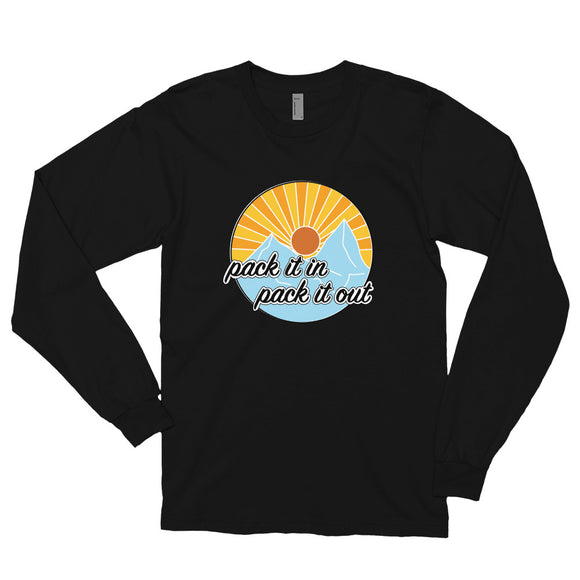 Pack It In, Pack It Out Long Sleeve