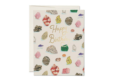 Birthday Gems Greeting Card