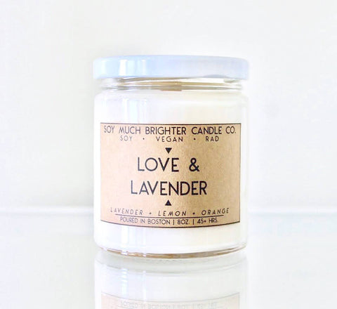 Love + Lavender Candle
