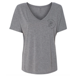 Rise Above It - Slouchy V-neck Tee
