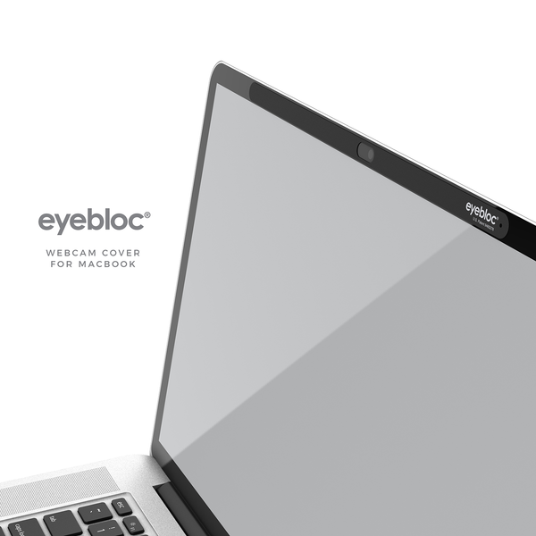 Bulk Pack - Webcam Cover for Macbook from Eyebloc
