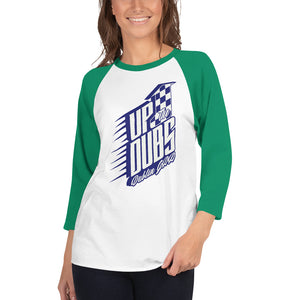 Dublin GAA Supporter 3/4 sleeve raglan shirt