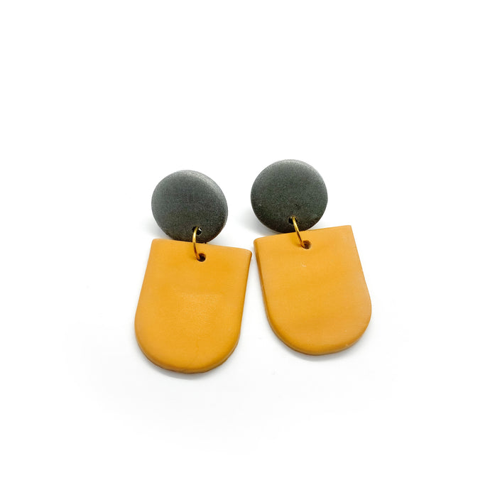 Amber (Color Options) - earpartyph ear party ph polymer clay earrings philippines