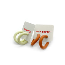 Load image into Gallery viewer, Clio Hoops (Color Options) - earpartyph ear party ph polymer clay earrings philippines