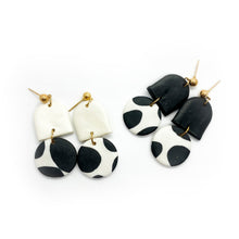 Load image into Gallery viewer, Cow 2 - earpartyph ear party ph polymer clay earrings philippines