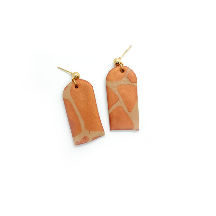 Giraffe 2 - earpartyph ear party ph polymer clay earrings philippines