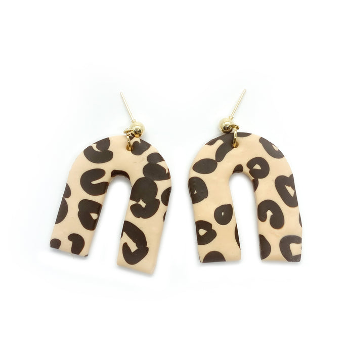 Leopard 1 - earpartyph ear party ph polymer clay earrings philippines