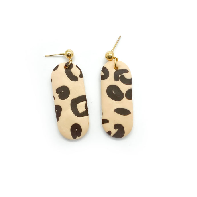 Leopard 3 - earpartyph ear party ph polymer clay earrings philippines