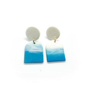 River - earpartyph ear party ph polymer clay earrings philippines