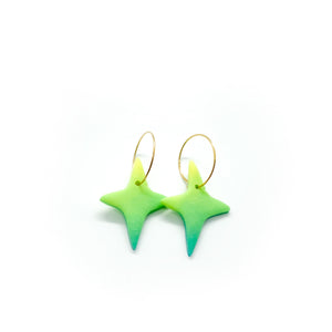 Stella Hoops (Color Options) - earpartyph ear party ph polymer clay earrings philippines